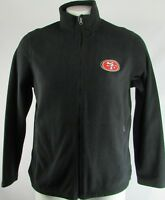 San Francisco 49ers Men's G-III Black Full Zip Soft Shell Jacket NFL