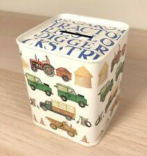 Men At Work Money Box By Emma Bridgewater - English Style Piggy Bank- UK Made