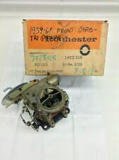 NOS ROCHESTER 2G CARBURETOR 1959 CHEVY 348 TRI POWER FRONT CARBURETOR RARE!