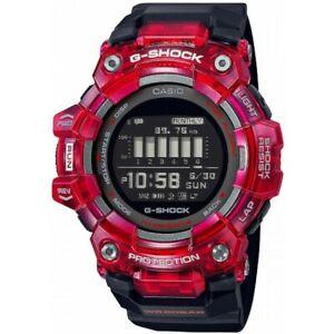 Casio Men Watch G-SHOCK GBD-100SM-4A1E Bluetooth Sport Chronometer G-Squad Red