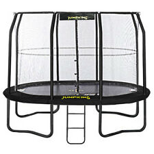 11.5ft x 8ft Jumpking OvalPOD Oval Trampoline with Enclosure (JPO811G17)