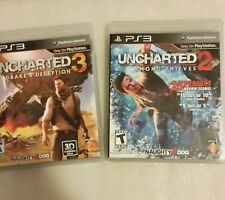 PS3 Game Set - Uncharted 2 and Uncharted 3