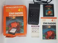 Star Raiders With Video Touchpad CX2660-1 Big Box Atari 2600 Game Boxed + Manual