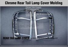 Taillight Lamp Chrome Garnish Molding Trim for KIA 2006-2014 Sedona Carnival