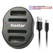 Kastar Battery Dual Charger for Canon NB-11L NB-11LH Canon IXUS 125 HS IXUS 132