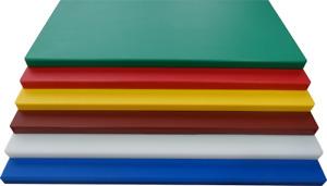 Tagliere Professionale in Polietilene Vari Colori  sp. 1 cm Varie dimensioni