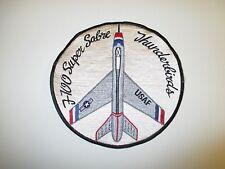 b5194 US Air Force USAF Thunder birds F 100 Super Sabre patch IR21B