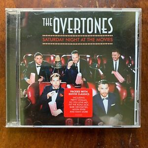 The Overtones Saturday Night at the Movies CD 2013 Crooner Easy Listening Pop