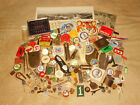 Vintage+Old+Stuff+Junk+Drawer+Lot++++Advertising++Lighter++Buttons++Patches++Tin