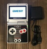 Nintendo Nes Edition Game Boy Advance GBA SP AGS-101 Brighter Screen! Excellent!