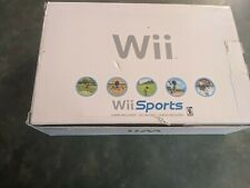 Nintendo Wii White Console, w/New Wii Sports Game.