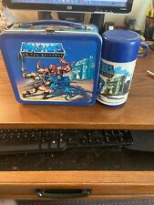 Vintage He Man Metal Lunch Box From 1983 With Thermos