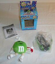 Green M&M Mini Plush RADIO w/ Headphones - Radioshack Exclusive Collectors Girl