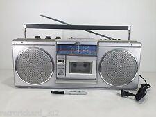 RARE Vintage JVC RC-565JW Boom Box Ghetto Blaster Stereo Cassette AUX Retro 80s
