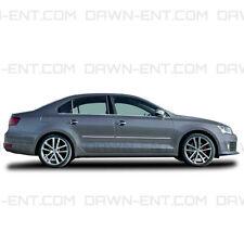 For: VW JETTA SEDAN Painted Body Side Mouldings With Chrome Insert 2013-2015