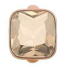 Auth ENDLESS Sterling Silver BIG ROSE CUBE ROSE GOLD 925 Vermeil Charm #61302-4