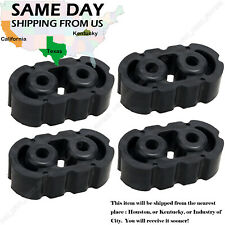4*Universal Polyurethane Rubber Exhaust Tail Pipe Mount Bracket Hanger Insulator
