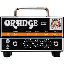 Orange Micro Dark Mini Tube Hybrid 20 Watt Guitar Amplifier Head MD20 Open Box
