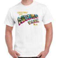 Greetings From Asbury Park N.J. 70s Rock Retro T Shirt 549