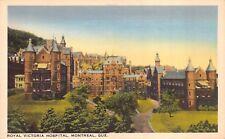 ROYAL VICTORIA HOSPITAL - Montreal Quebec Canada - Antique Unused POSTCARD