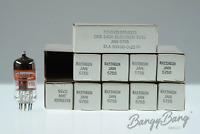 10 Vintage Raytheon JAN 5755/12AX7/CV755 Mullard Diff Pinout -BangyBang Tubes