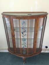 Glass Dining Room Less Than 30 Cm Width Display Cabinets