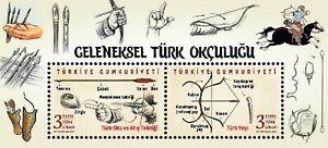 Turkey 2021, Traditional Turkish Archery, S/S, mnh