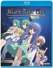 WHEN THEY CRY REI - BLU RAY - Region A - Sealed