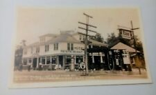 Old Minick's Place Rt 30 Lincoln Highway Esso Gas Bald Knob Mt PA. Postcard Repo