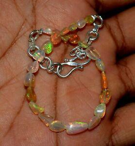 Solid 925 Äthiopische Opal Armband, Opal Schmuck, Welo Opal, Oktober Birthstone