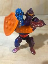 Vintage MOTU He-Man Masters of the Universe TWO-BAD Complete with Shield 1984