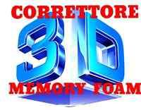 Correttore sopra materasso memory foam 3D Air Fresh visco elastico  Topper letto