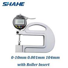 0.001mm Digital Micron Thickness Gauge with Roller Insert Depth Gauge