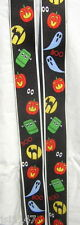 "MENS BRACES HALLOWEEN BLACK CAT GHOST GHOULS SPOOKS 2"" BRACE YOURSELF"