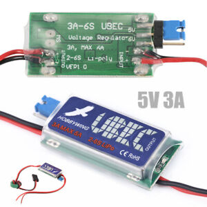 RC UBEC 5/6V 3A Max 5A HOBBYWING Switch Mode Lowest RF Noise für RC Models DE