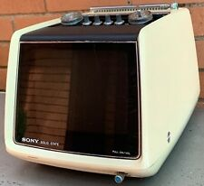 Vintage 70s Sony Tv-750 Television Space Age Mid Century Modern