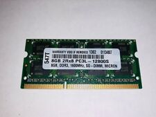 Micron Technology 8 GB 1600 MHz DDR3 DDR3L PC3-12800 204 Pin SO-DIMM de memoria de 1.35 V