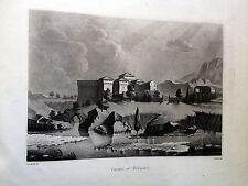 VARANO DE MELEGARI ;castello LITTA POMPEO.Stato Pallavicino 1841,EMILIA ROMAGNA
