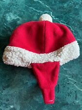 Boys/Girls Old Navy Santa Claus Red Christmas Hat Size 3-6 Months