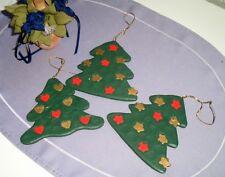 3 Weihnachtsfiguren Christbaumfiguren Christbaumaufhänger - Holz