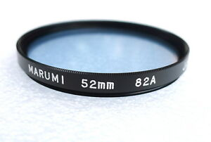 52mm MARUMI 82A Filter - Cooling Color Correction - NEW
