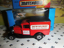 Matchbox Model MB38   Dewhurst Red   Van  Black   Roof  OO ? Scale