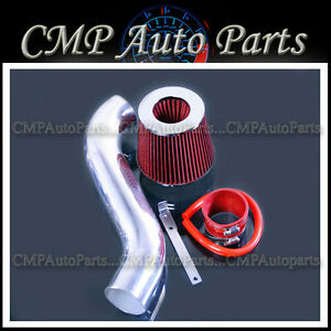 RED AIR INTAKE KIT FIT 1990-1994 PLYMOUTH LASER 2.0 2.0L NON-TURBO