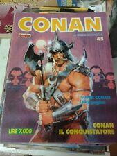 CONAN SPADA SELVAGGIA n°  45  - ED. COMIC ART - SAVAGE SWORD