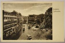 GERMANIA/DEUTSCHLAND BIELEFELD JAHNPLATZ ANIMATA VIAGGIATA fp 1938 #18558