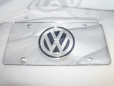 Volkswagen, VW  License Plate Colors- Silver/Smoke NEW!!