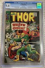 1967 Marvel Thor #147 CGC 9.4 Loki Battle, Inhumans