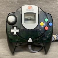 Sega Dreamcast Clear Smoke Black Controller OEM Genuine Official, TESTED. Used