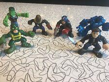 Playskool Heroes Marvel Super Hero Action Figure Lot Of 6 Hulk Avengers