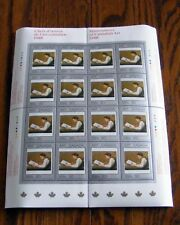1988 CANADA STAMPS  SHEET Mn # 1203  -  MASTERPIECES OF CANADIAN ART - 1   DM18